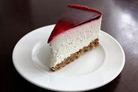 Frikkes LCHF-Køkken: Cheesecake med mandelbund og bærgele