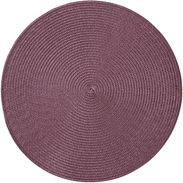Pier 1 Imports Mesa Eggplant Placemat (250 RUB) ❤ liked on Polyvore featuring home, kitchen & dining, table linens, purple, purple placemats, purple place mats, pier 1 imports and purple table linens
