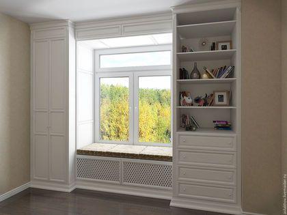 шкаф на заказ по индивидуальным размерам, мебель из дерева