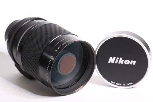 Nikon reflex-NIKKOR C 1:8 F = 500mm