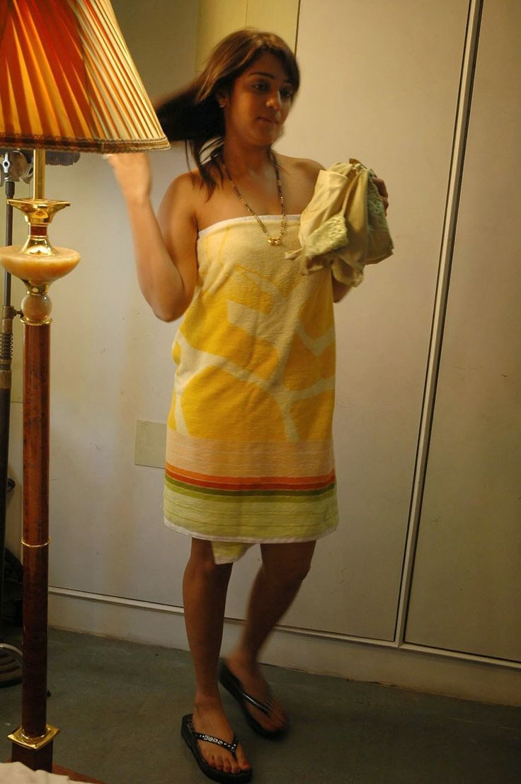 Towel tease