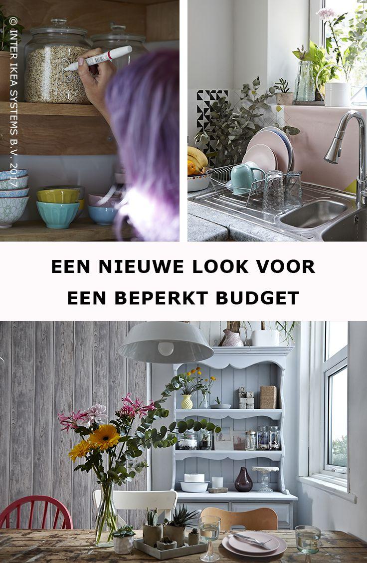 25 beste idee n over oude keuken kasten op pinterest bijwerken van kasten update - Houten binnenmuur dressing ...