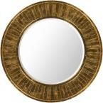 Alecto 40 in. x 40 in. Classic Framed Mirror