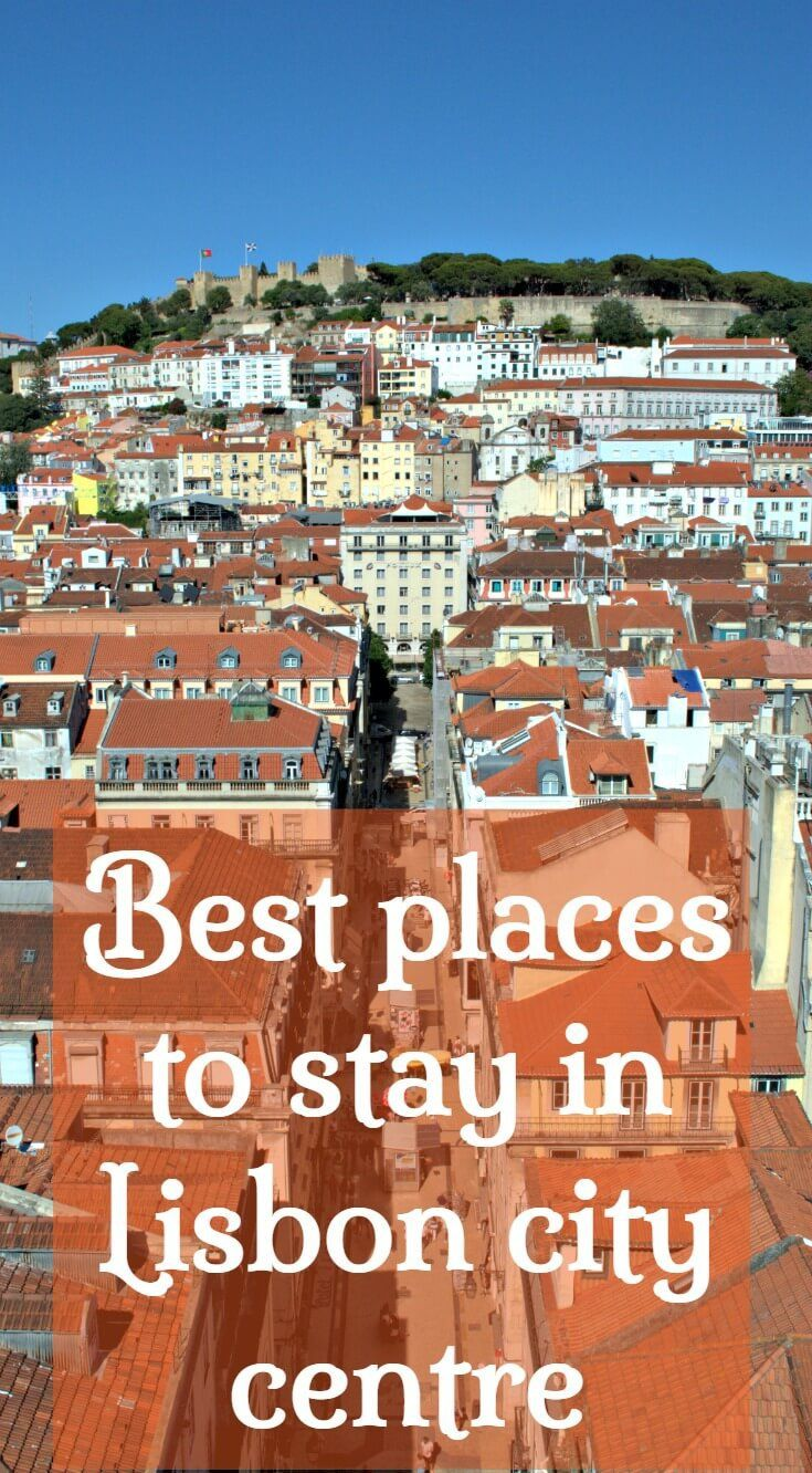 Best places to stay in Lisbon city centre. Best Lisbon areas, hotels, apartments and guesthouses. Read my Lisbon neighbourhood guides to choose a base that suits your interests then save time finding suitabe accommodation with my carefuly seected options.