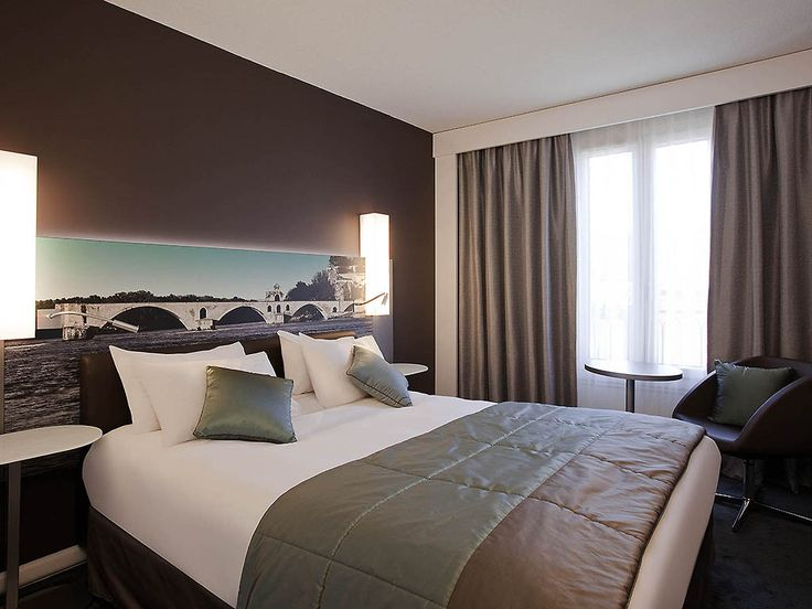 MERCURE PONT D'AVIGNON CENTRE: Located between the Pont d'Avignon and Palais des Papes, this Mercure hotel benefits from an excellent…