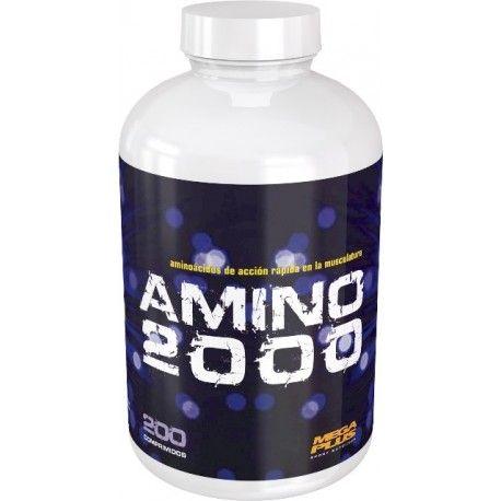 AMINO 2000 200 Comprimidos 18,90 €  Las proteínas son el nutriente básico en la alimentación de todo deportista que quiera conseguir un mantenimiento, protección y desarrollo de la masa muscular; las proteínas además son antioxidantes y ejercen una función de mantenimiento de las defensas, factores que también son necesarios para la salud del atleta. AMINO 2000 es un concentrado proteico a base de lactoalbúmina y colágeno hidrolizado, proteínas de buena digestibilidad que garantizan una…