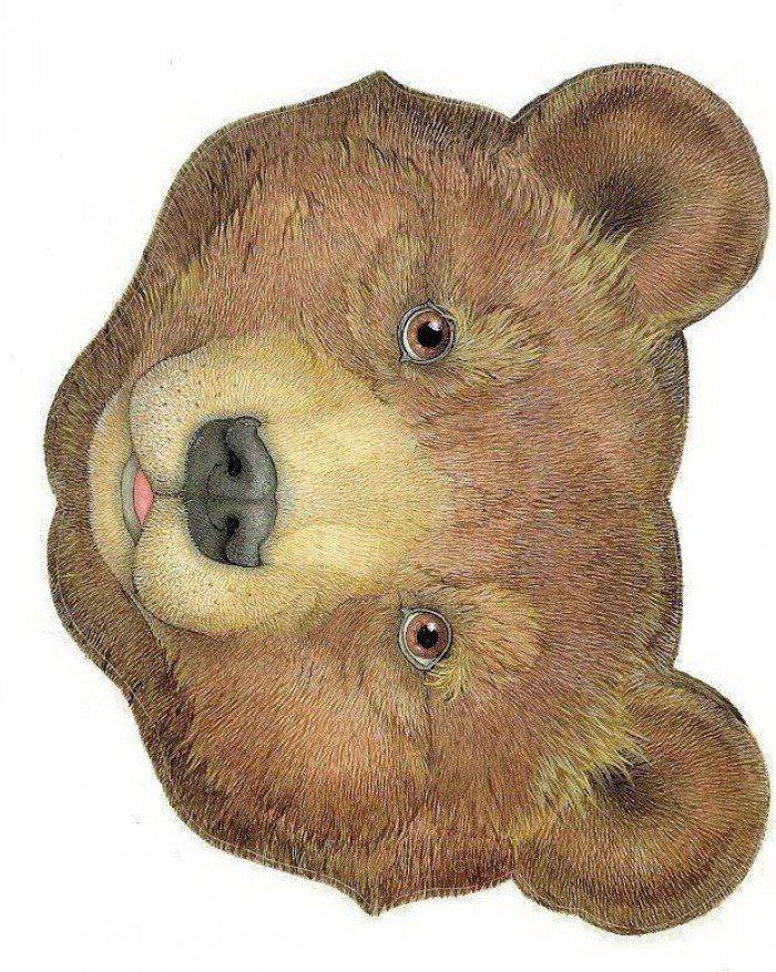 городской картинка маски медведя большая которые