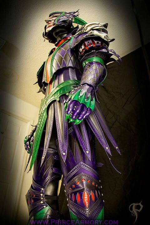 Medievel Joker Leather Armor by Prince Armory