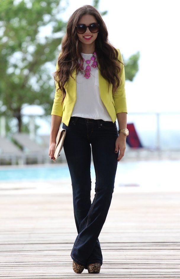 Best 25+ Black bootcut jeans ideas on Pinterest | Blazer and jeans outfit women Black flare ...