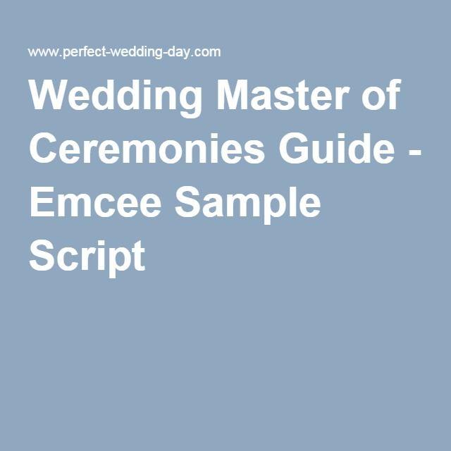 25+ Best Ideas About Wedding Officiant Script On Pinterest