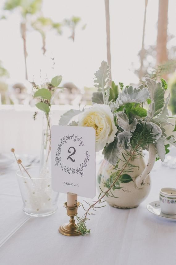 BHLDN table numbers | photo by Jessica Barley of A Darling Day