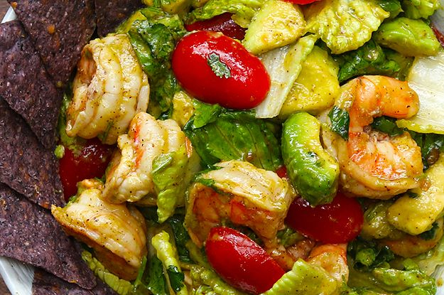 This Shrimp And Avocado Salad Is Perfect For Your Cinco De Mayo Party