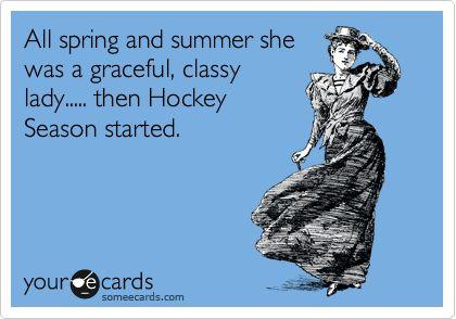 Then hockey season started ;)