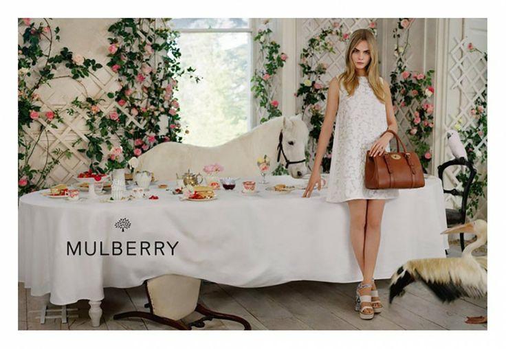 Cara Delevingne for Mulberry Spring/Summer 2014