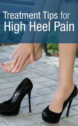 Treatment Tips for Common High Heel Problems - Prevent High Heel Pain | http://Scrubbing.in