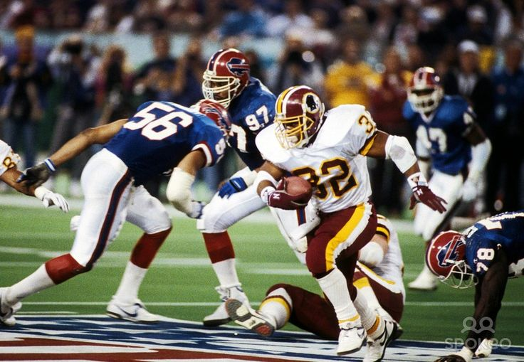 ... Super Bowl XXVI at the Metrodome. The Redskins defeated the Bills
