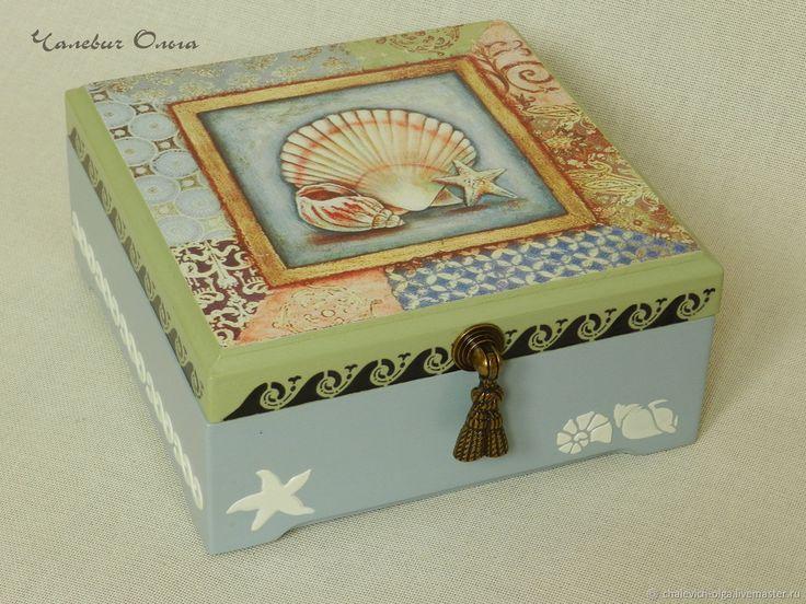 Купить Шкатулка Морская фантазия в интернет магазине на Ярмарке Мастеров