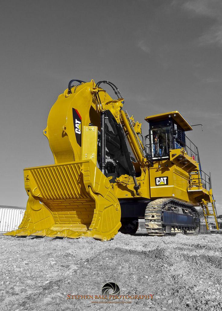 Sheer power! Cat 6018 Hydraulic Shovel CatMachines Work