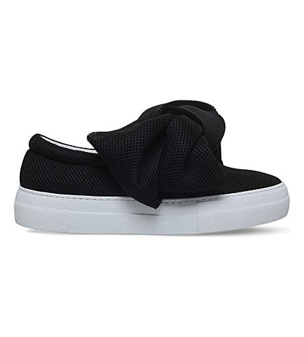 JOSHUA SANDERS Mesh Bow Skate Shoes. #joshuasanders #shoes #sneakers