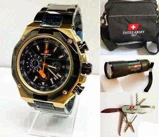 Jam Tangan Swiss Army 9868 Black Gold / RP 850,000 | BB : 21F3BA2F | SMS :083878312537