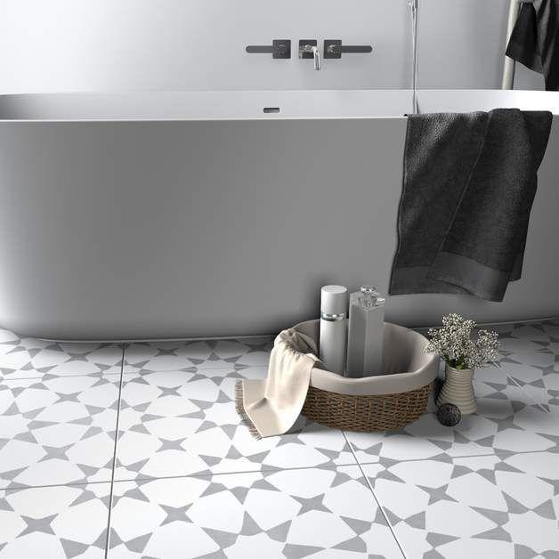 25+ parasta ideaa Pinterestissä Fliesen 10x10 Linoleum fliesen - farbe fürs badezimmer
