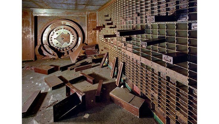 Oficina Bagley-Clifford en el Banco Nacional de Detroit