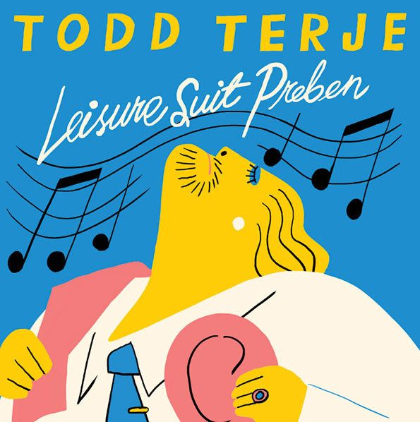 Bendik Kaltenborn: Todd Terje Album Cover – Leisure Suit Preben