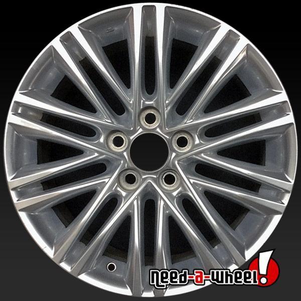 2013 2015 Lexus Es350 Oem Wheels For Sale 17 Hypersilver Stock Rims 74277 Oem Wheels Wheels For Sale Chrome Wheels
