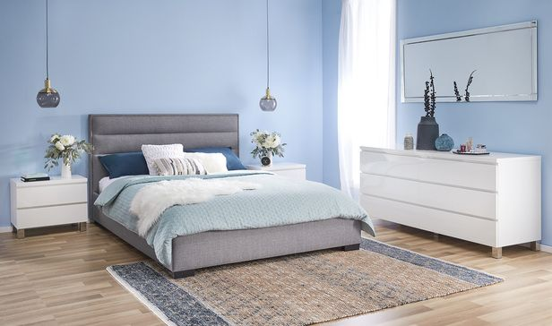 Saville Queen Bedroom Package With, Saville Queen Bed