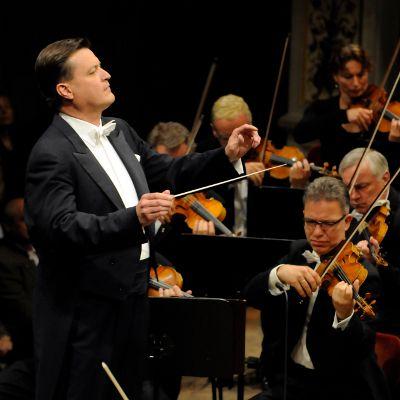 Christian Thielemann conducting the Staatskapelle Dresden © Matthias Creutziger