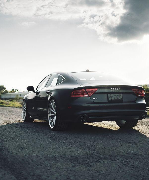 "visualcocaine: ""Vossen Wheels X Audi A7 """