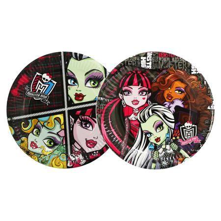 Росмэн Тарелка бумажная, 18см, 10шт, Monster High  — 88р. ------ Праздничный набор бумажных одноразовых тарелок 18см, 10 шт, из коллекции Monster High (Монстр Хай) послужит идеальным решением для проведения вечеринки, дня рождения. Героини популярного мультфильма придутся по душе юным гостям, а Вам не придется тратить время на мытье посуды. Не расставайтесь с любимыми героями во время шумной вечеринки!  Дополнительная информация:  - тарелочки идеальный подарок фанатам любимого мультфильма…