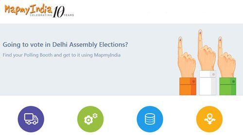MapmyIndia Polling booth locator to guide voters during Delhi Assembly polls 2015  Read More: http://www.techmagnifier.com/news/mapmyindia-polling-booth-locator-guide-voters-delhi-assembly-polls-2015/   #MapmyIndia #Apps #Web #Application