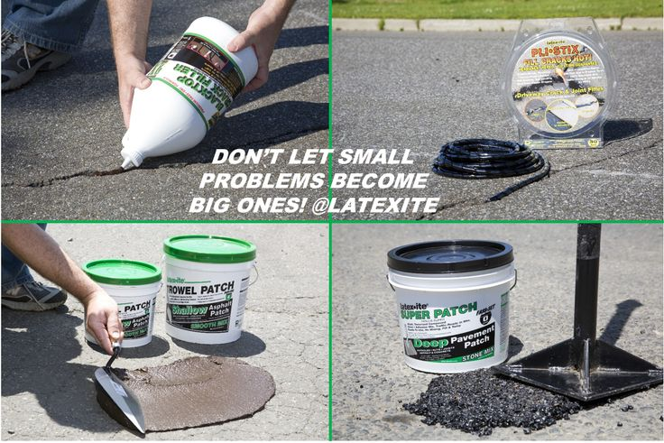Patch & Repair your blacktop driveway before it's too late! Paving is expensive!