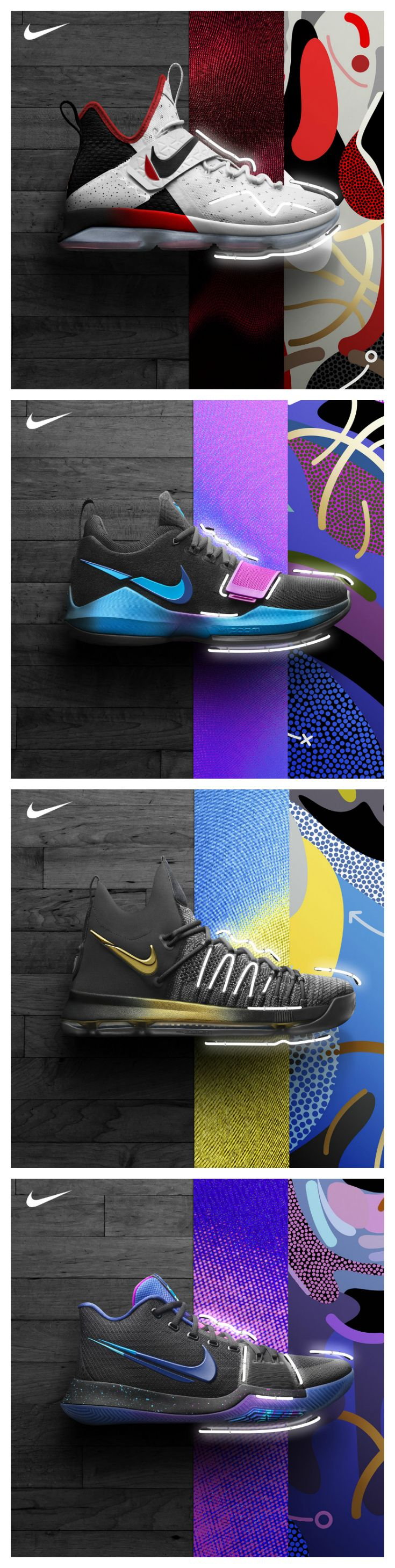 Shine bright on the game's biggest stage. New signature shoes from Nike Basketball are available now.