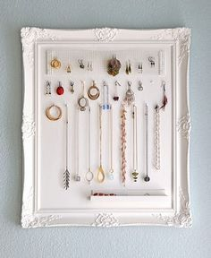Jewelry Storage Frame | 39 DIY Gifts You'd Actually Want To Receive