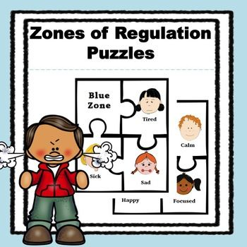 Zone of Regulation Puzzles