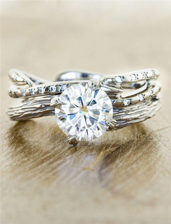 35 classic elegance engagement rings from ken dana design - Woman Wedding Rings