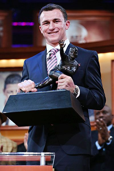 Johnny Manziel - 2012 Heisman...WHOOP!!