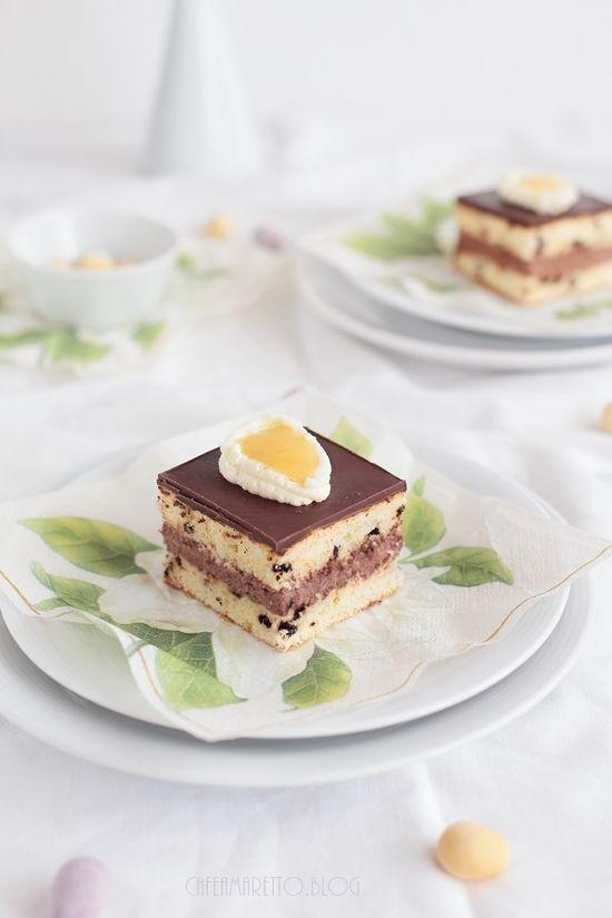Cafe Amaretto: Wielkanocne ciasto z ajerkoniakiem