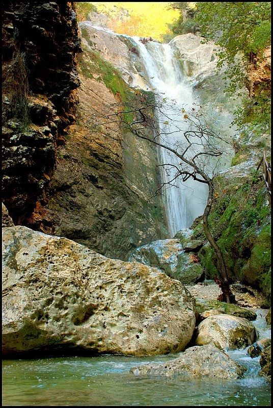 Dimosari waterfalls - Nidri, Lefkada