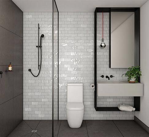 25 best ideas about minimalist bathroom on pinterest for Modern minimalist bathroom