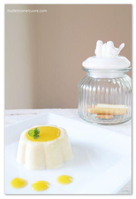 Budino al latte di mandorla senza glutine e lattosio