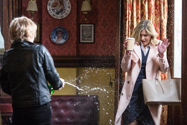 (BBC PICTURES) 'EastEnders' Spoiler Pictures Reveal Lisa Faulkner's Entrance As Fi Browning