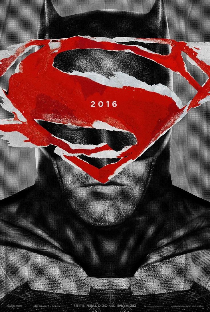 2 BATMAN V SUPERMAN Posters Surface - Whose Side Are You On? — GeekTyrant