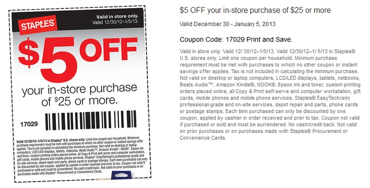 Discount office supplies coupon