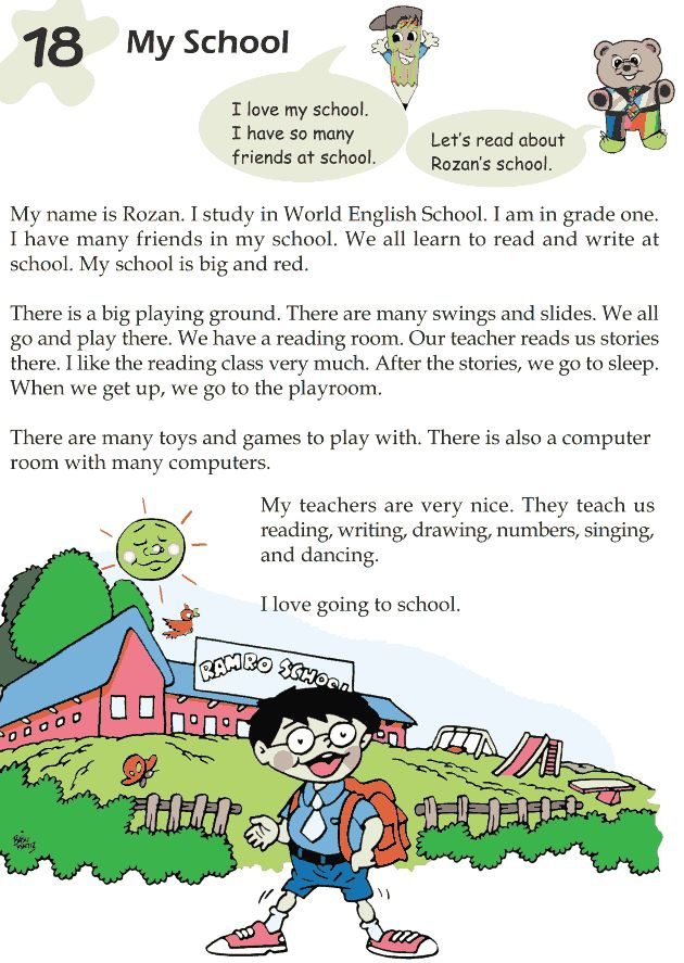 Short Story About A Garden For Kids