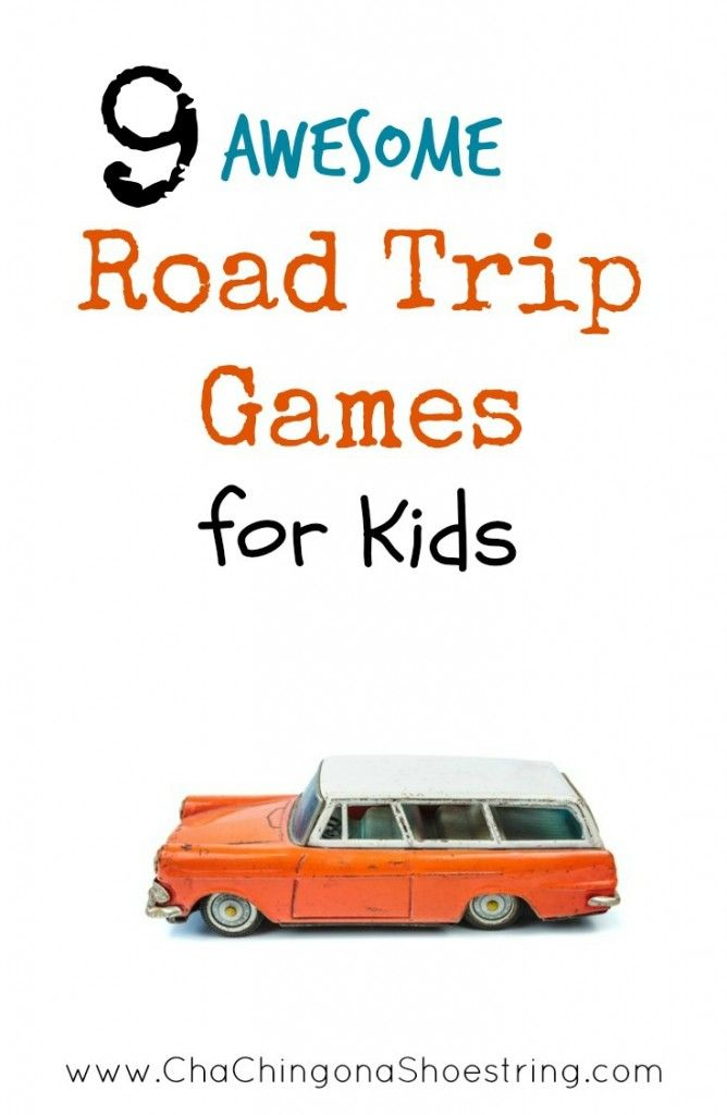 Don't miss this list of 9 awesome Road Trip Games and Activities for kids before you go on your next road trip. These fun ideas will entertain your kids for hours - no technology involved!!