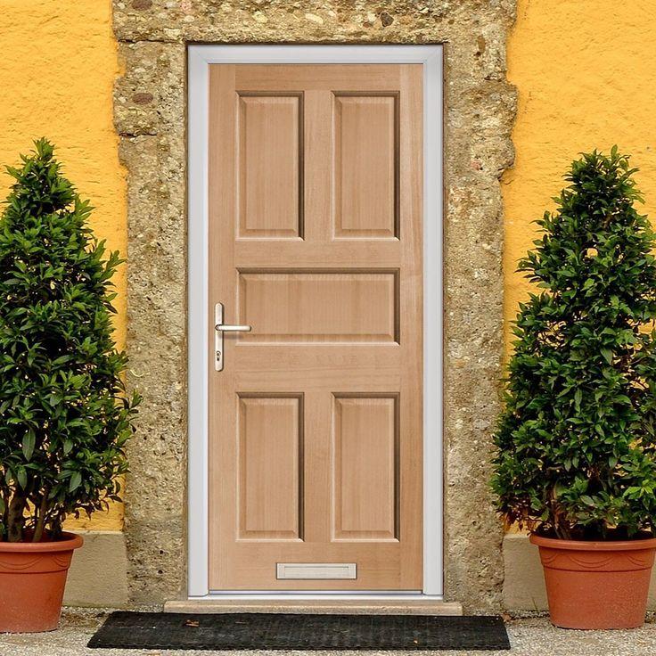Scintillating External Wooden Doors Made To Measure Photos Exterior Ideas 3d
