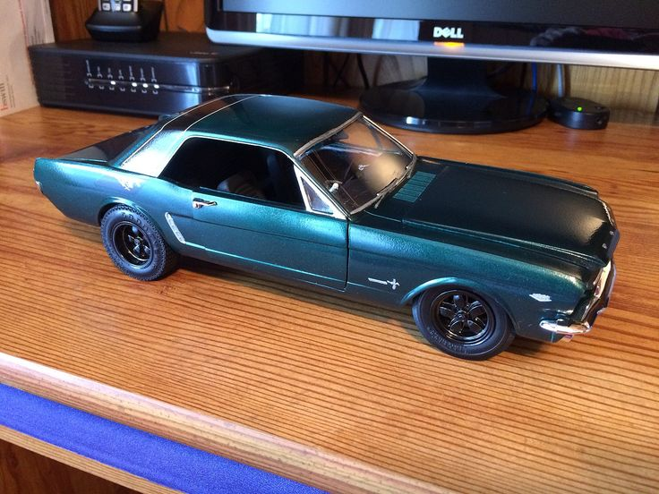 1965 Ford Mustang Plastic Model Car Kit in 1/16 Scale. @  & 16 best Plastic Models - Science Fiction/Space images on Pinterest ... markmcfarlin.com